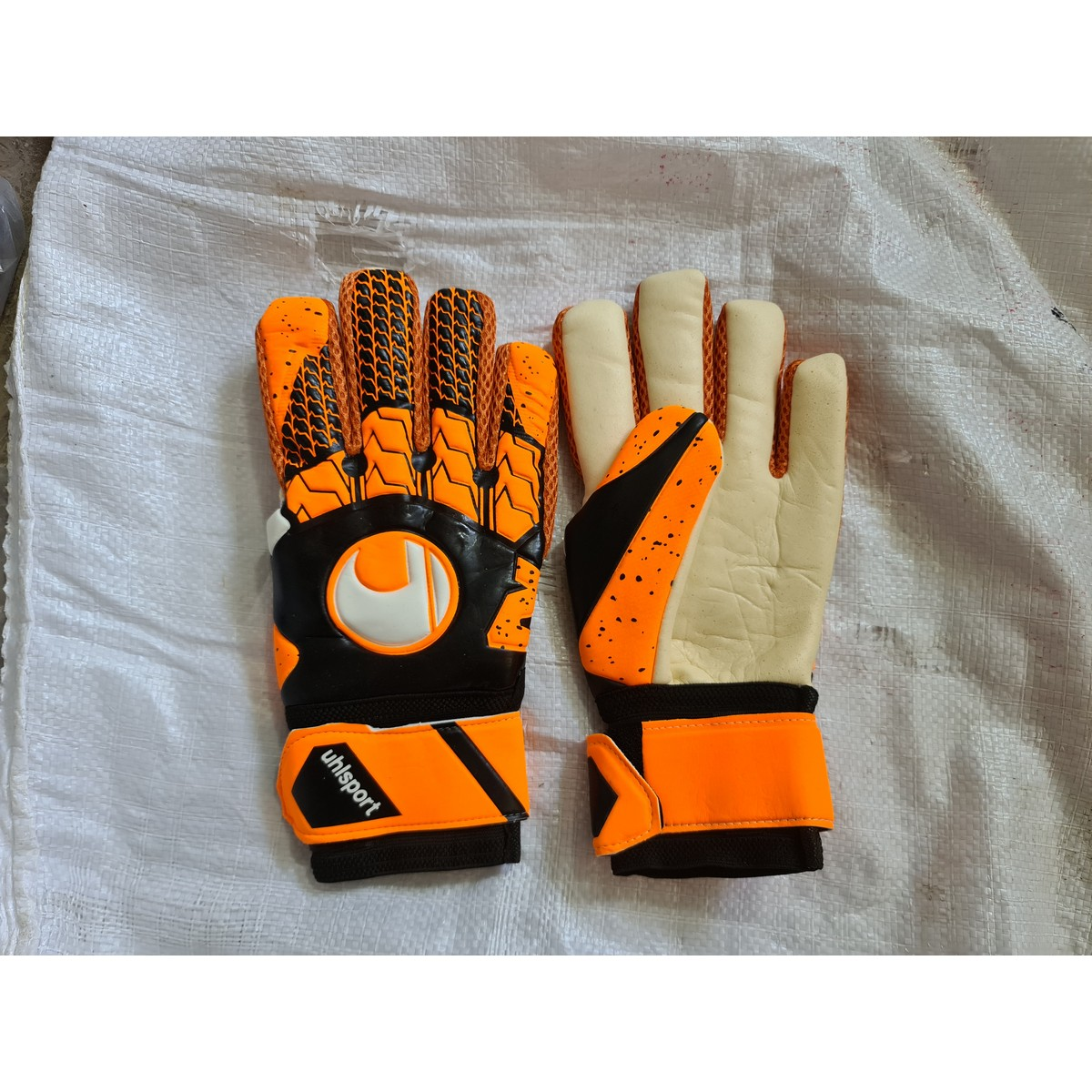 Foot ball goal keeper gloves High quality