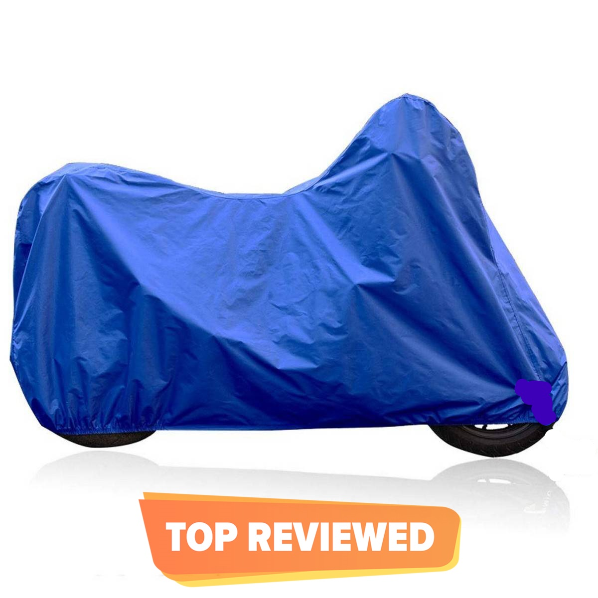 Water & Scratch Proof Full Bike / Motorcycle Cover - Multicolor 70cc - 125cc