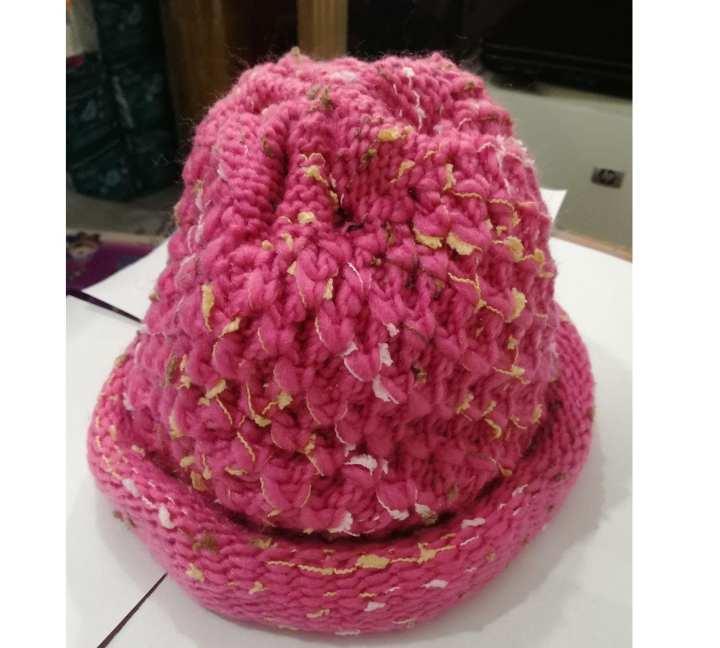 Ladies Woolen cap Flexible  for all size