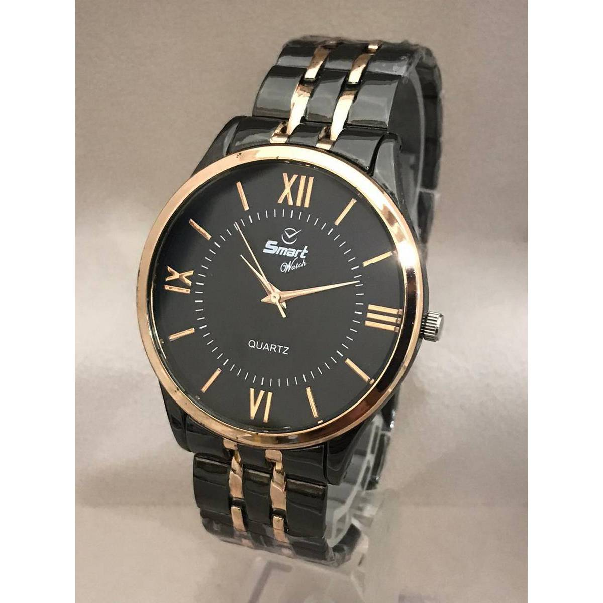 New Stainless Steel Metal Strap Analog Watch For Men