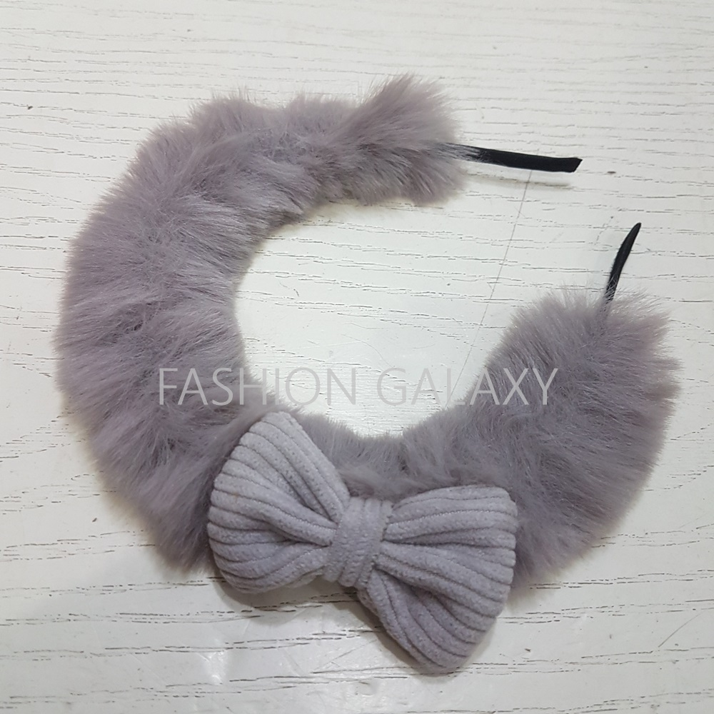 Beautiful Kids Girl Solid Hair Band In Bow Design