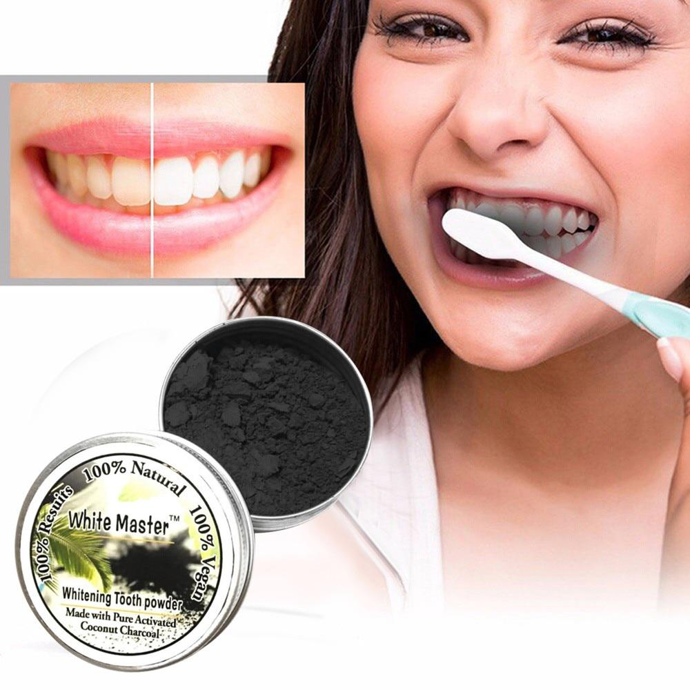 Oral Hygiene Teeth Whitening Cleaning Activated Bamboo Charcoal Powder 18g