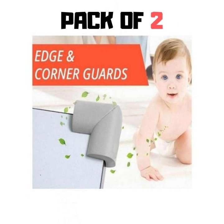 Baby Safety Corner Guards For Furniture and Sharp Corners - Pack of 2