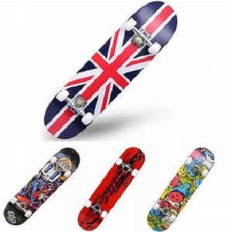 "Skateboard 27"" Large Wood for Teens Adults Beginners Girls Boys Kids"