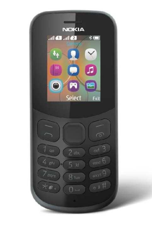 N130 Ds (2017) Phone - Black (Advance)