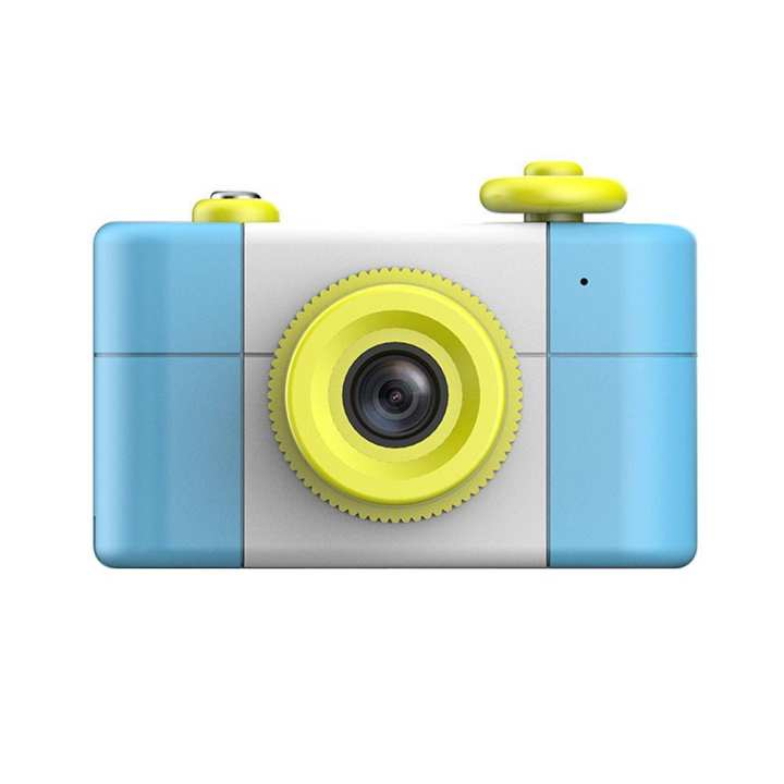 REMAX Cartoon 1.5 Inch 2MP 1080P Kids Baby Digital Camera Camcorder (Blue)