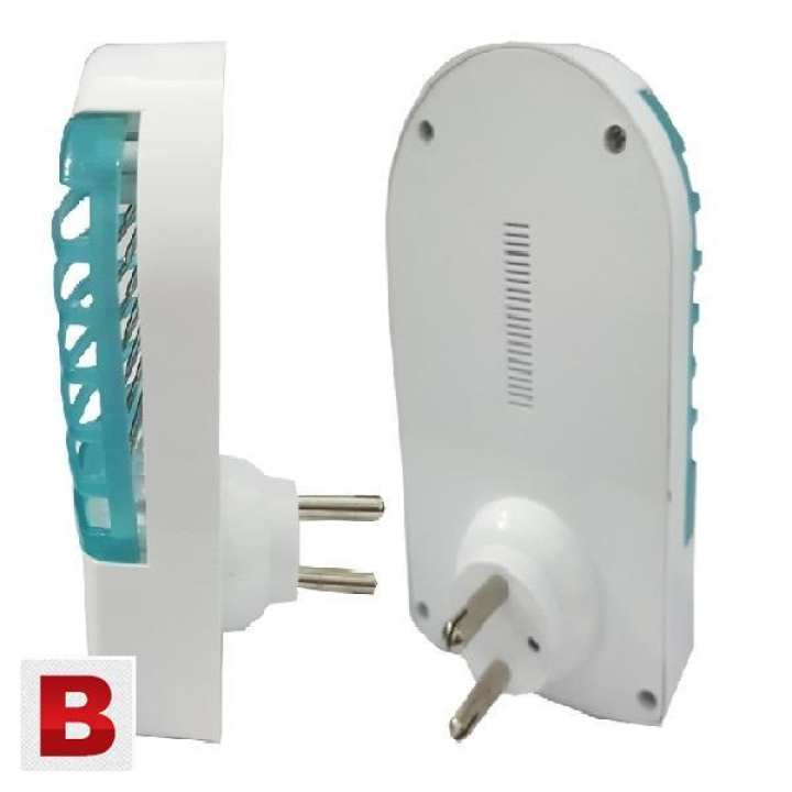 Pack of 2 - Millat Insect Killer - LED Anti Mosquito Device - Plug - IN Device in Socket