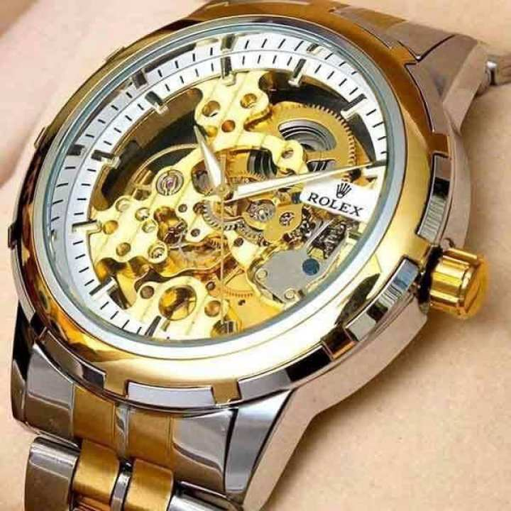 Skeleton Automatic Mechanical Watch For Men