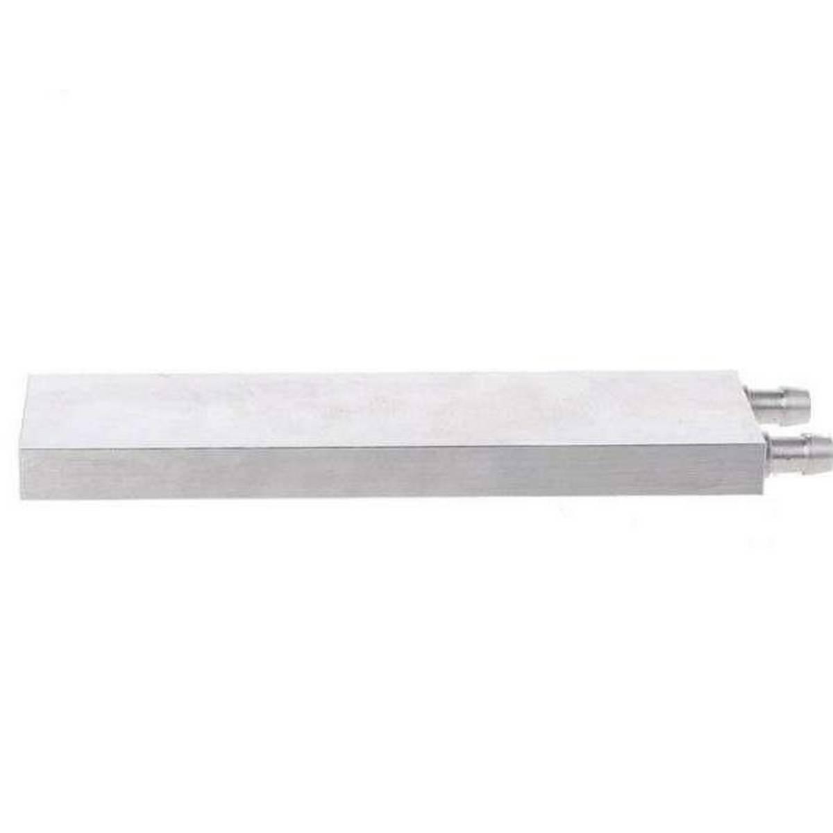Aluminum Water Cooling Block 40*160mm Primary Aluminum Water Cooling Block Heat Sink System For PC Laptop CPU