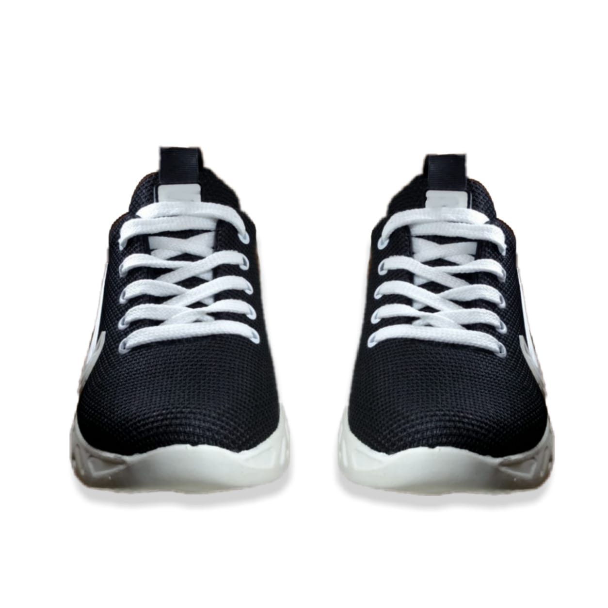 (MK) - Black , Blue & Red Synthetic Material Sneakers 005