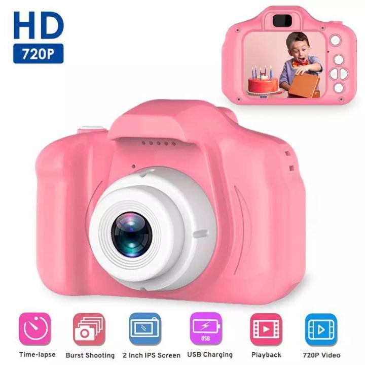 Kids Digital Video Camera 1080P Mini Camera HD 2 inch Screen