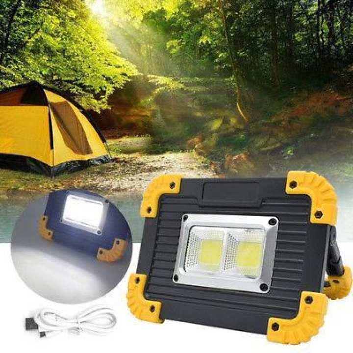 Portable 20W COB Bright Light Working Light Flashlights LL-812