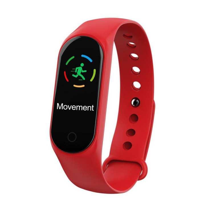 0.96 Inch Smart Watch Bracelet M3 Color LED Sports Blood Pressure Band