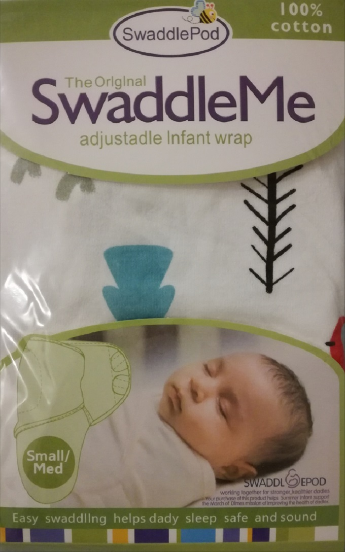 High Quality Super Soft Newborn Baby Infant Swaddle Wrap Sheet With Leg Pocket And Magic Sticker - 100% Cotton