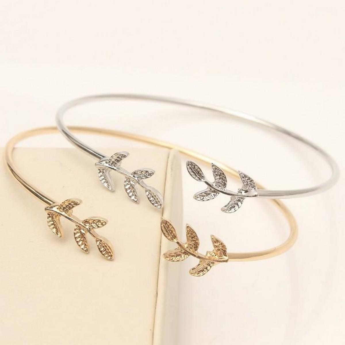 Kaytlins Leaf Shape Bracelets For Women - New Arrivals