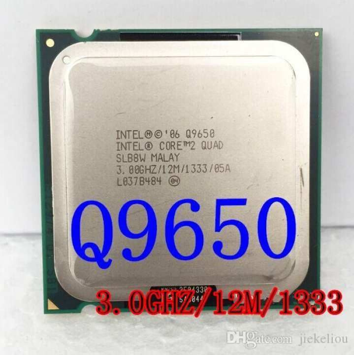 Core 2 Quad Q9650 3.0GHz - 12MB Cache - All heavy Game Run Easily