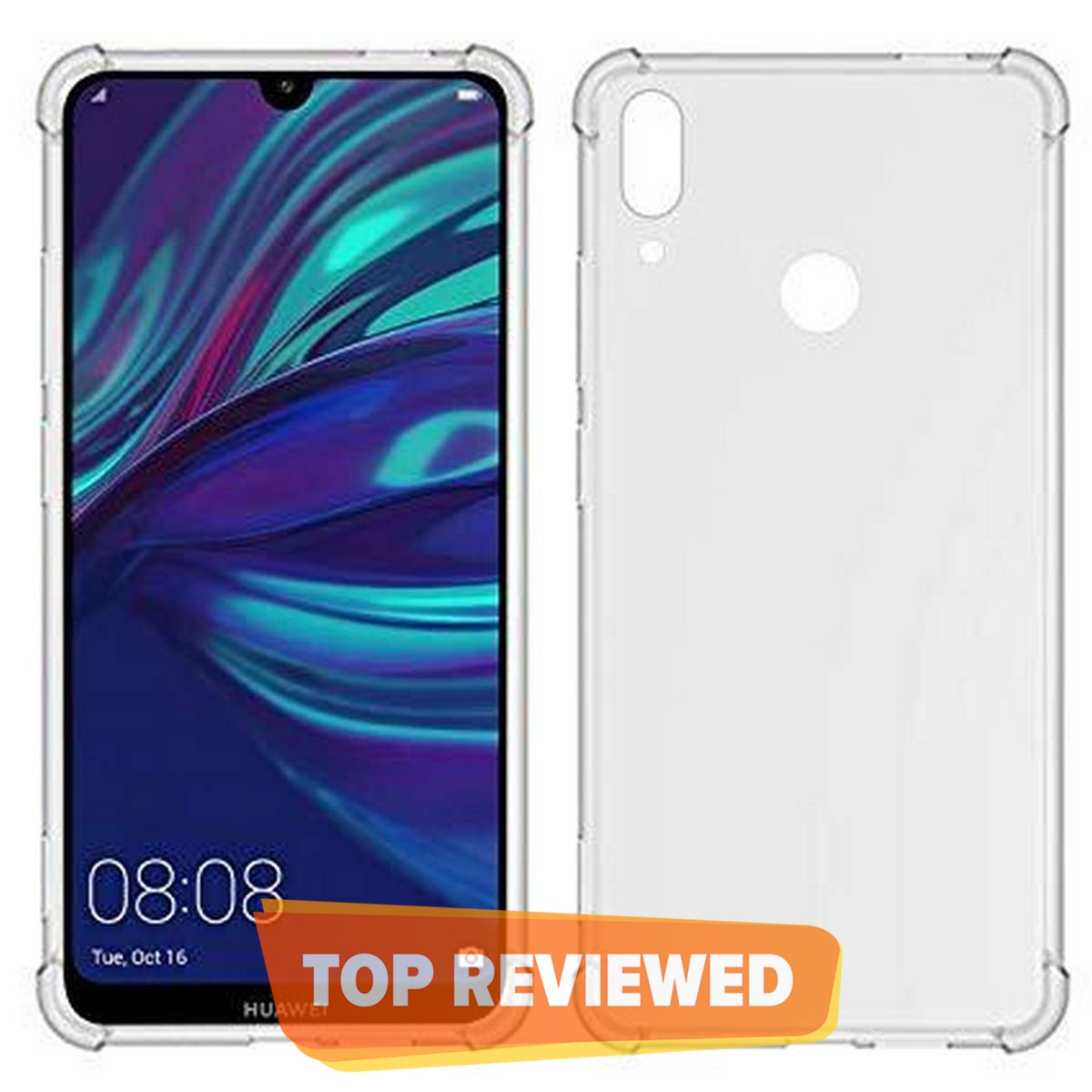 Huawei Y7 Prime 2019  Back Cover