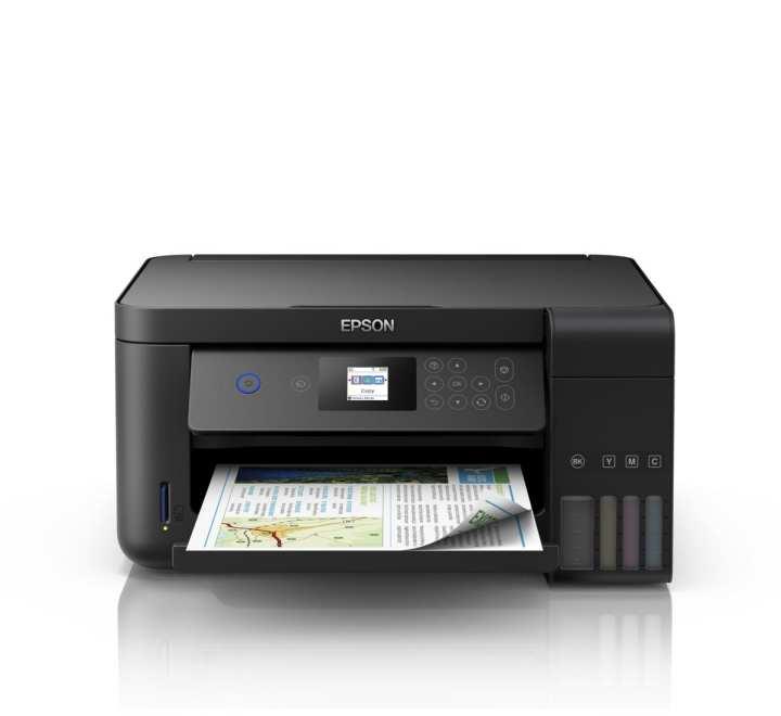 EPSON L4160 WI-FI DUPLEX ALL-IN ONE INK TANK PRINTER (4 COLOR, A4+ SIZE, PRINT, SCAN, COPY, PRINT SPEED UP TO 10.5 ipm /5.0 ipm, DUPLEX: 6.0 ipm / 4.0 ipm)