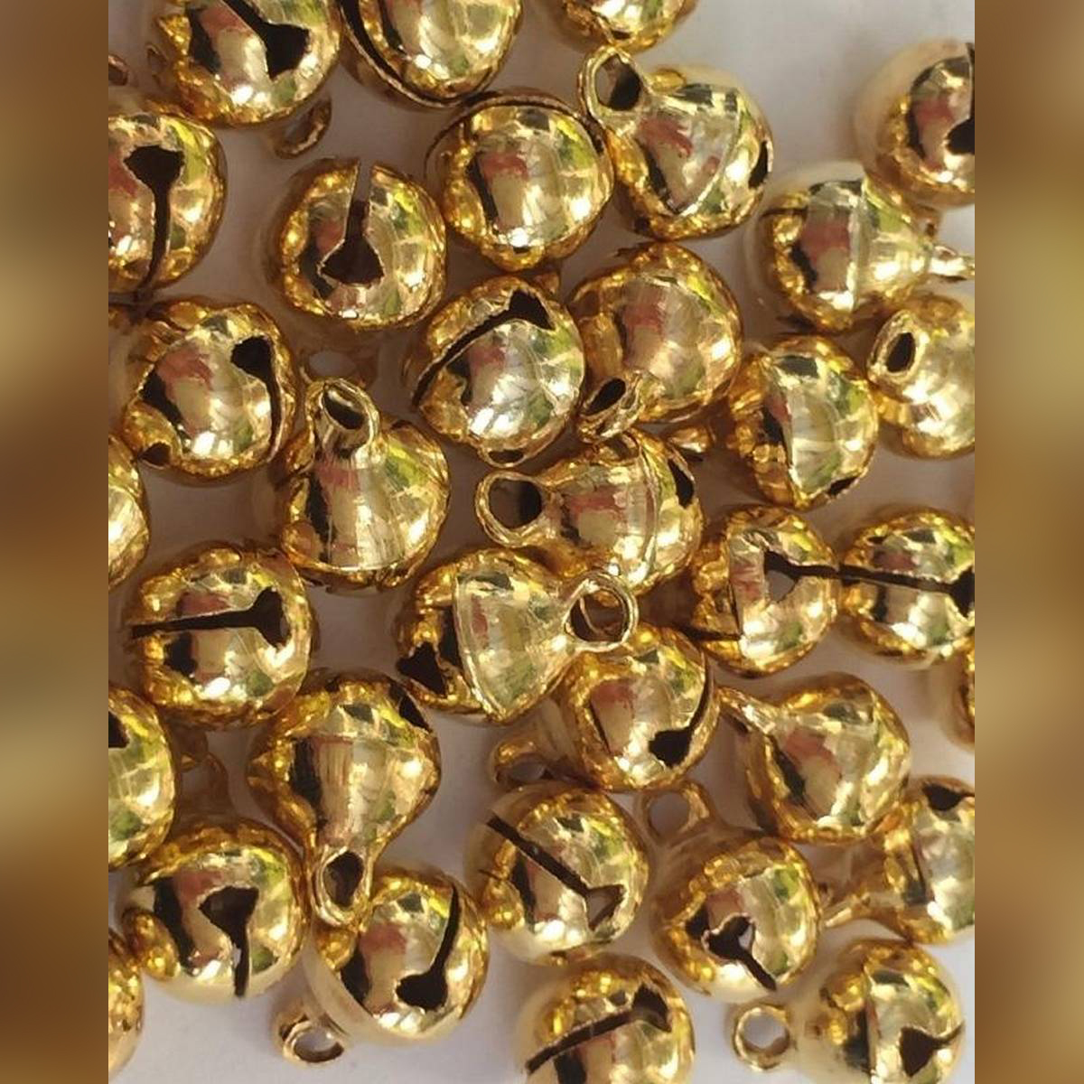 Mini Golden Bells Pack Of 50 Pieces.For Curative Work.