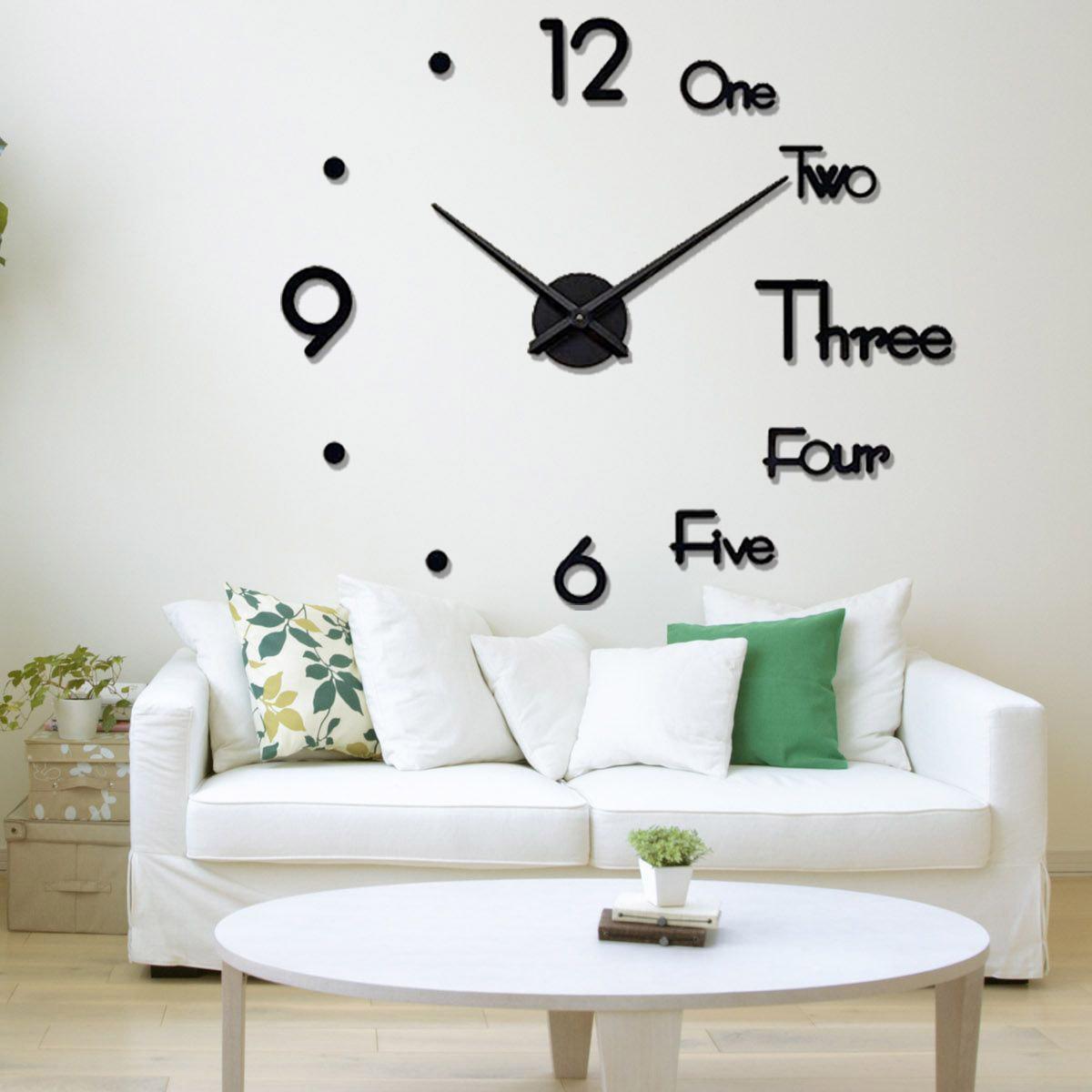 2021 New 3D Wall Clocks New Fashion Wood Clock For Living Room Quartz Watch DIY Home Decoration Clocks Matti Closures And Matti Design