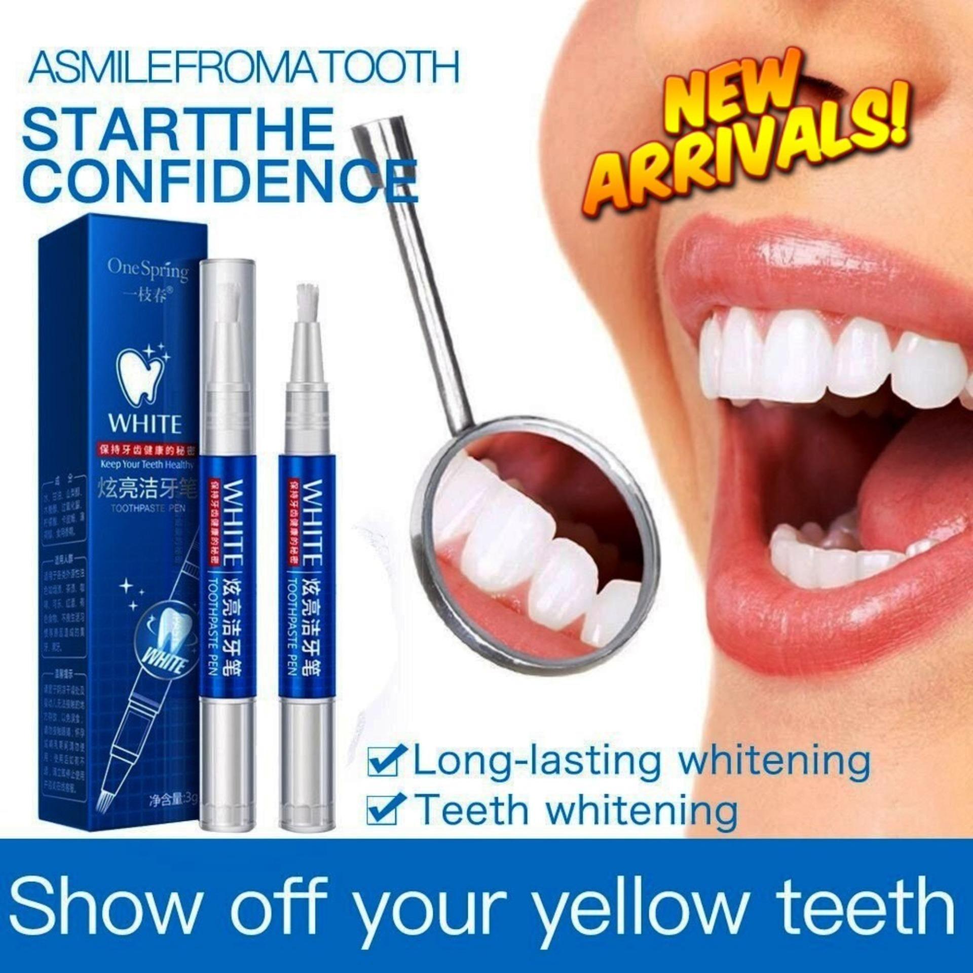 Oral Hygiene Teeth Whitening Cleaning Bleaching Pen
