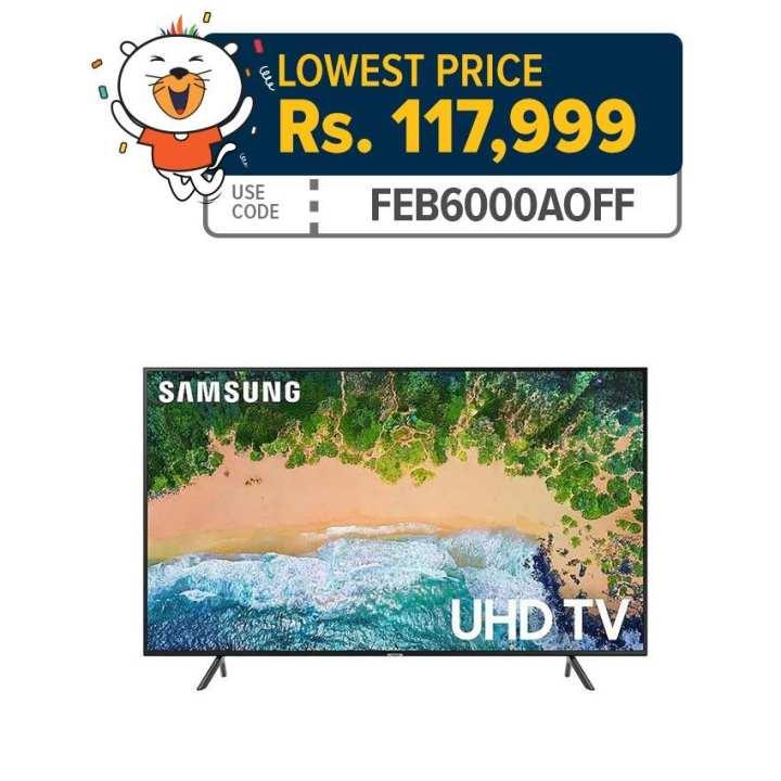 "Samsung 55NU7100R 55"" UHD 4K Smart TV series 7"