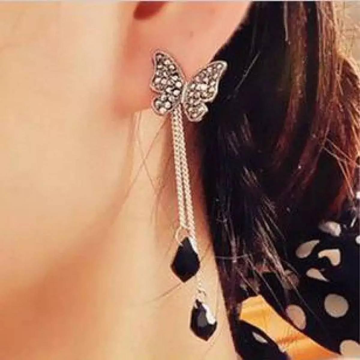 Butterfly Style Trendy Earrings