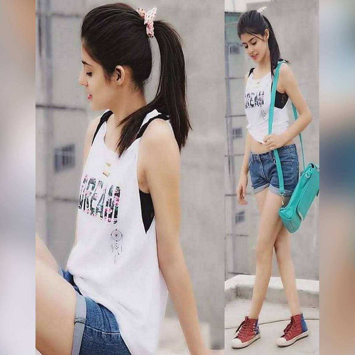 Denim Shorts For Women - Dm-5