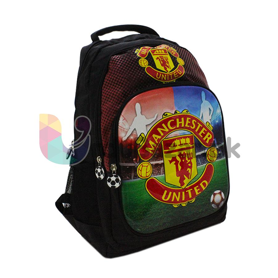 65ad50bbd7 Manchester United Football Club - Stylish Kids School Backpack