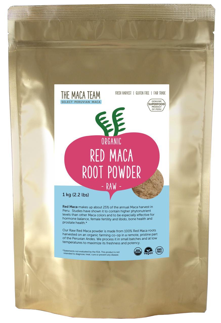 Red Powder - 1 KG Raw, Organic