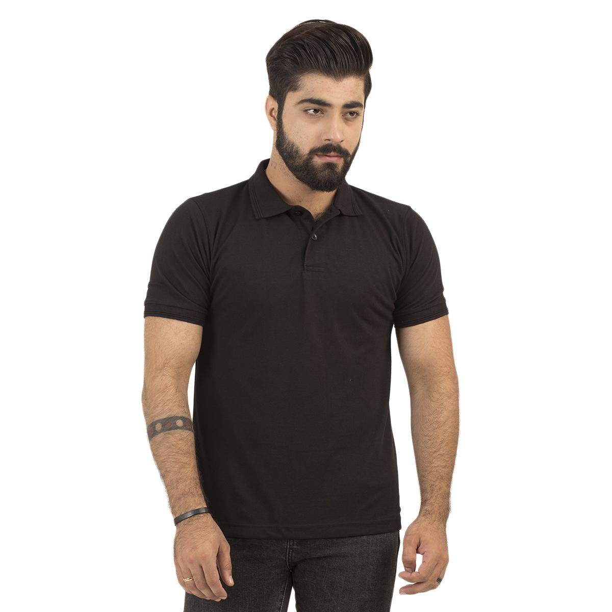 Half Sleeves Plain Polo Tshirts For Men