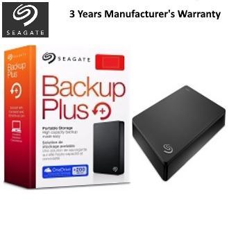 Backup Plus Portable Hard Drive - 5TB - Black