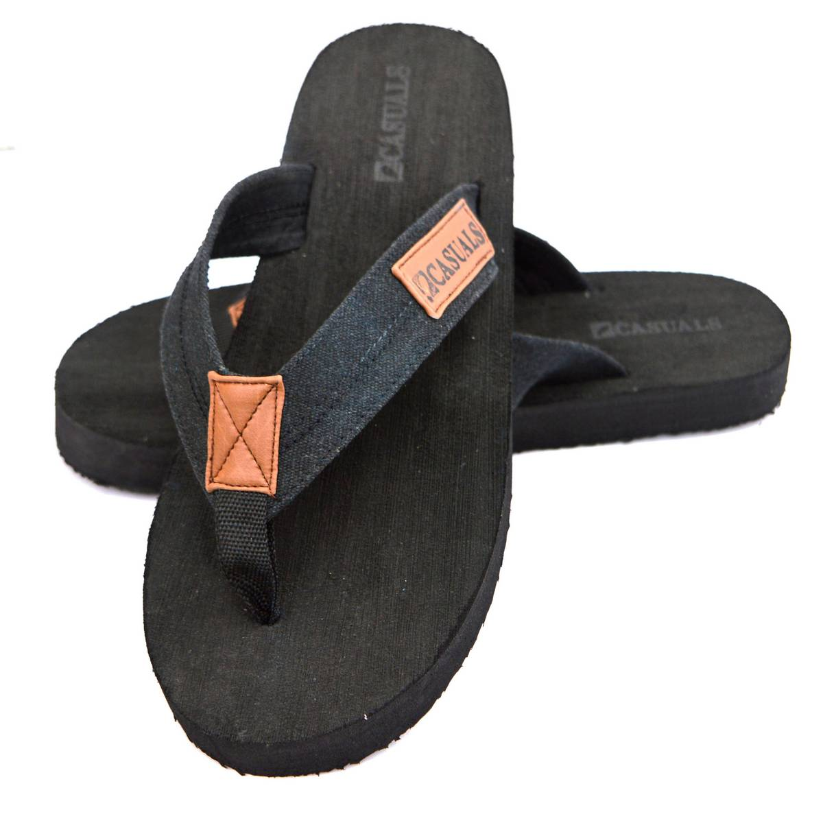 Casuals Hand Crafted Flip-Flops, Thongs Sandals Comfort Slippers for Men Size 6-11