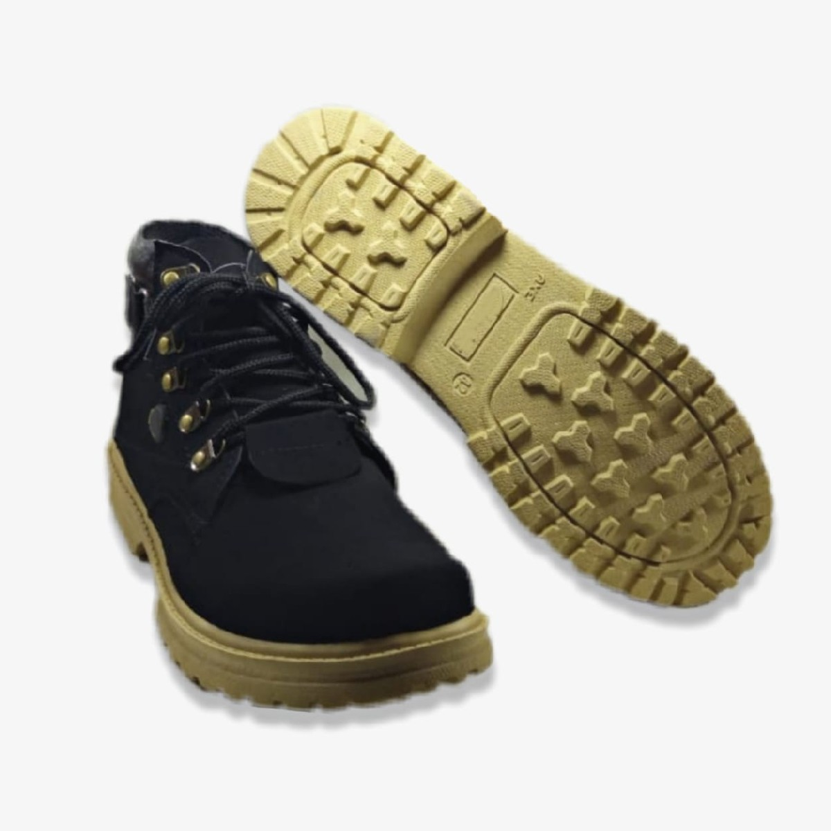 (MK) - Black Daily Use Long Shoes for Men CTBL002