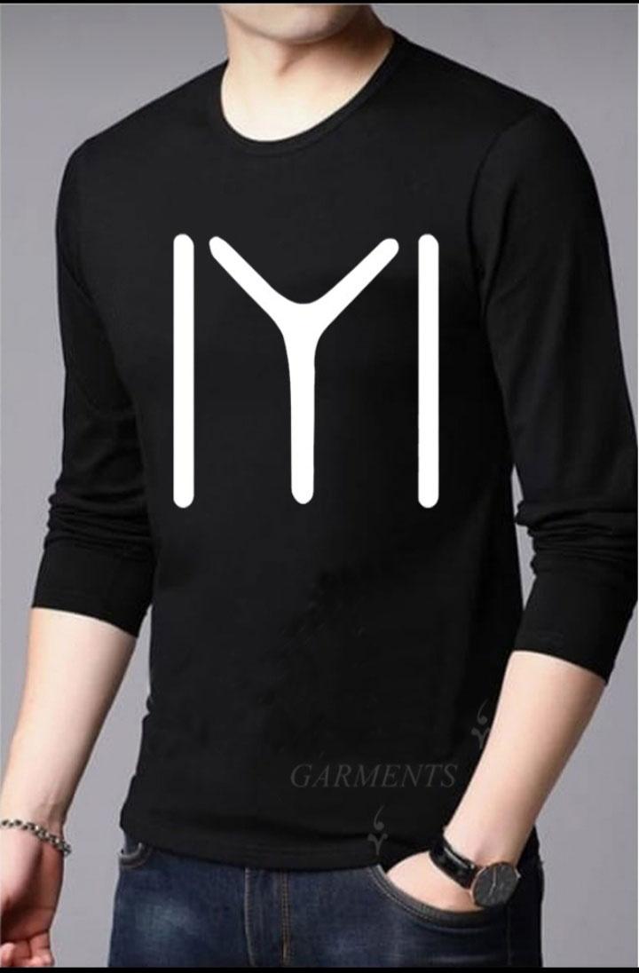 Ertugrul Sign Full Sleeves Printed T shirt for mens