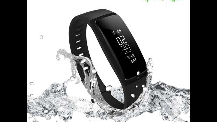 Fitness Band Sports Watch BP Heart Rate Monitor