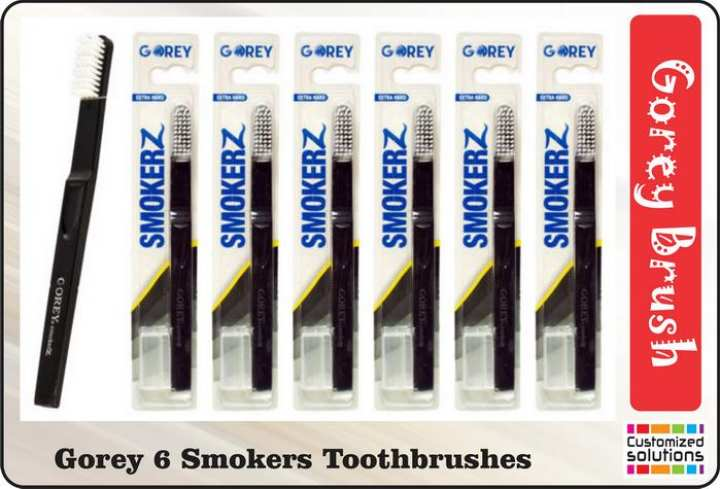GOREY SMOKERZ TOOTH BRUSH (Halal) 6 PIECE