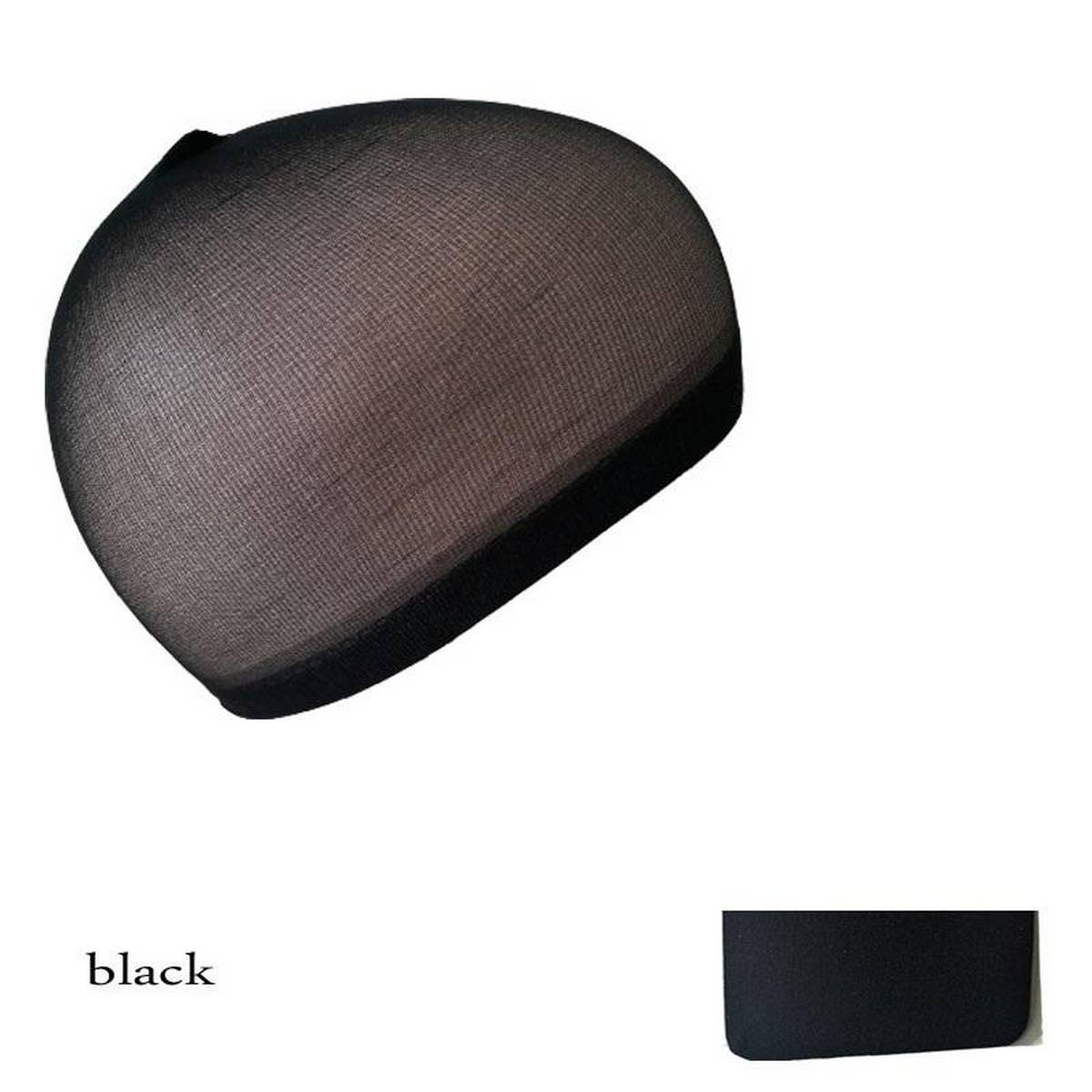 Hairnets Black Invisible Soft Elastic Lines Hair Net Wigs Weaving Mesh Net Fishnet Ladies Elastic Wig Caps