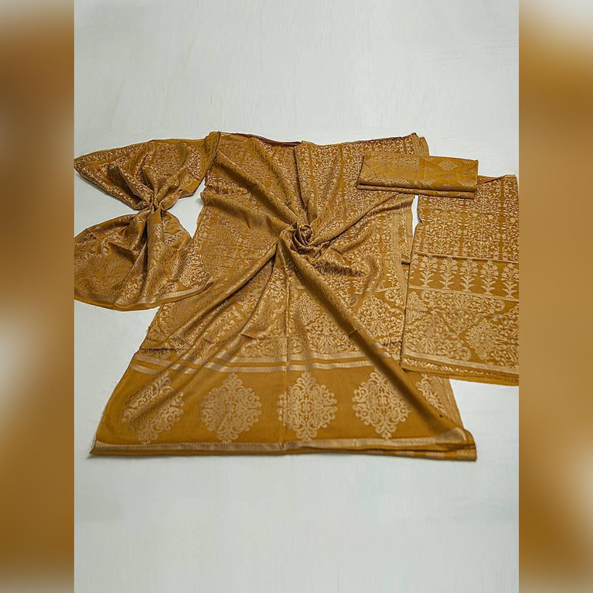 Schick Cotton Banarsi Jacquard Un-stitched 1 Piece