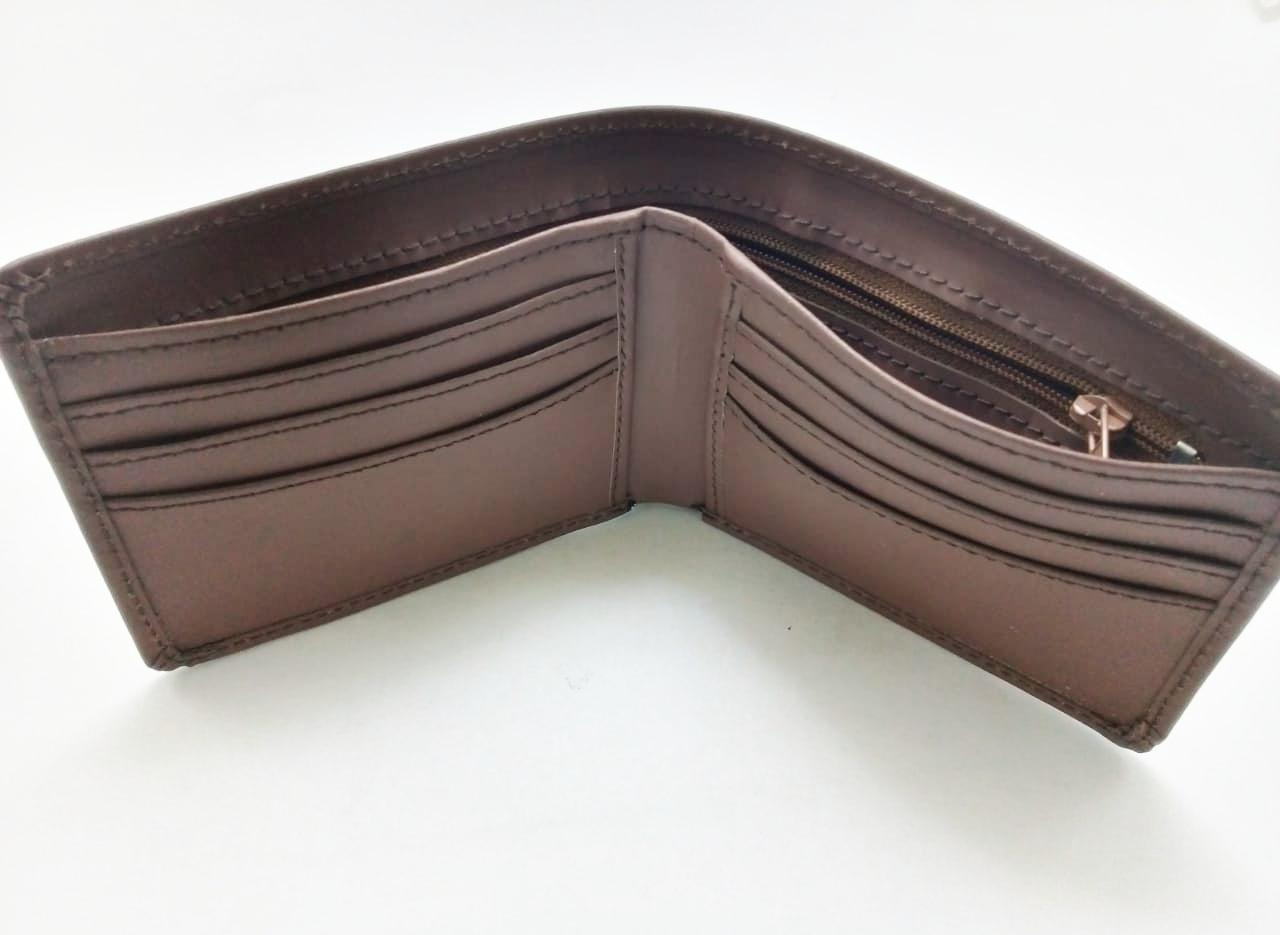 65ced28479 Pure Leather Wallet .