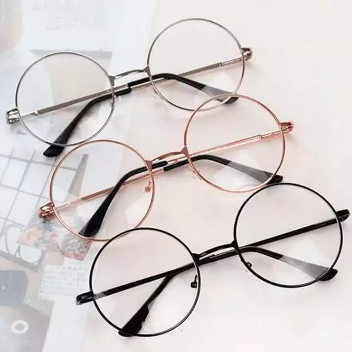 Metal Frame Round Harry Potter Glasses for Girls & Men with box