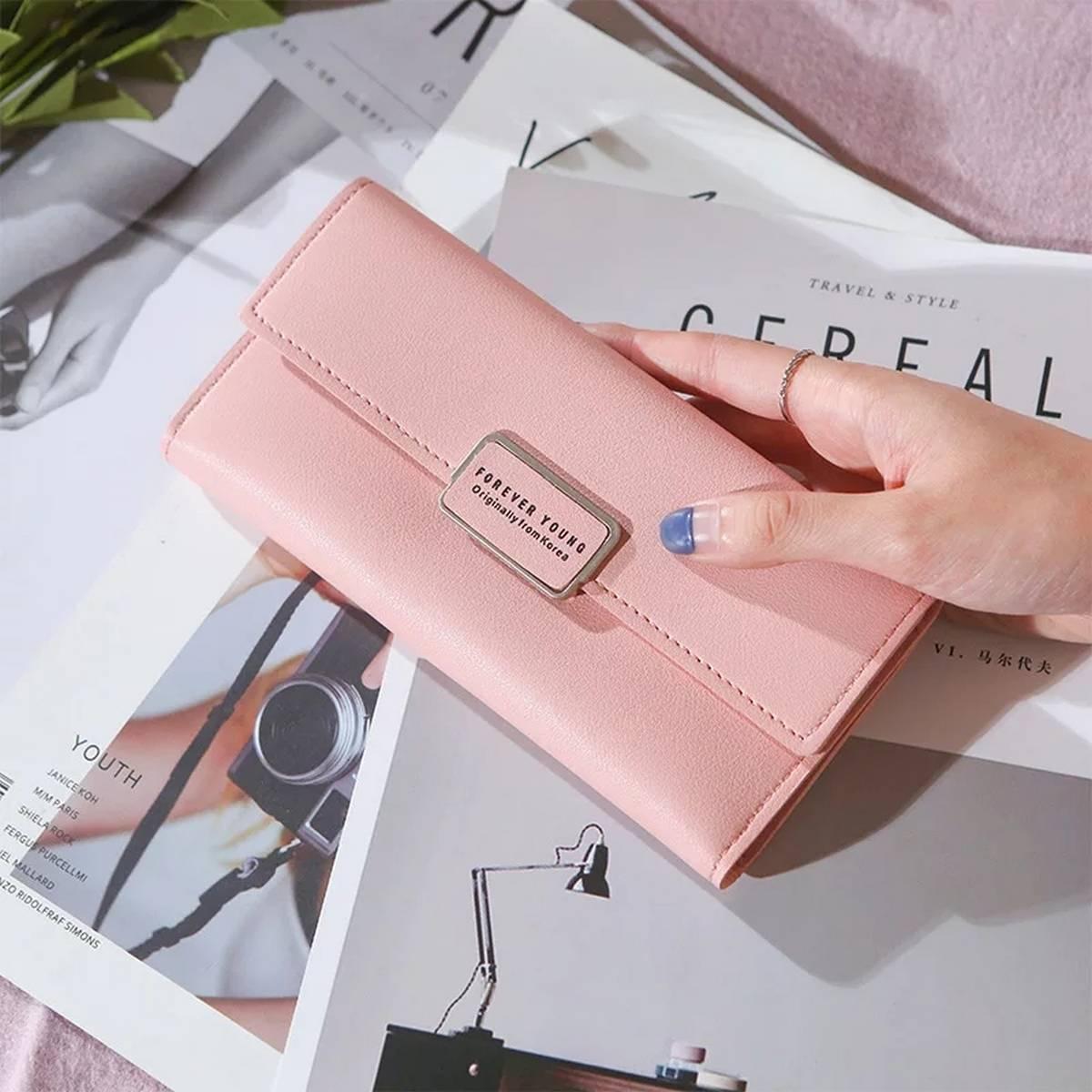 Women Long Wallets Purses Luxury  Wallets For Ladies Girl Money Pocket Card Holder Female Wallets Phone Clutch Bag