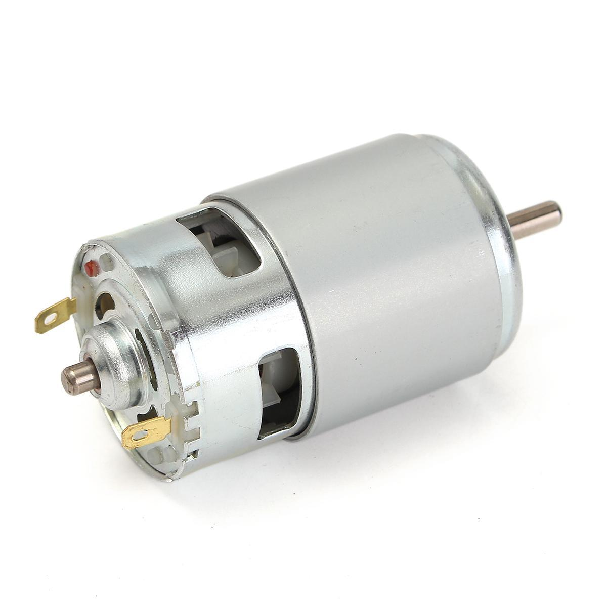 a9b0108b84c 775 DC 12V-24V 3500-9000RPM Motor Ball Bearing Large Torque High Power Low  Noise