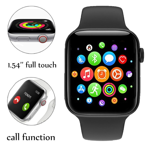 Advanced Version Fitness Bluetooth Mobile Smart Watch Fitness Bluetooth Digital Wrist Sports Watch With Heart Rate Health and Fitness Features For Android Samsung Nokia Hauwei and Mi Phones
