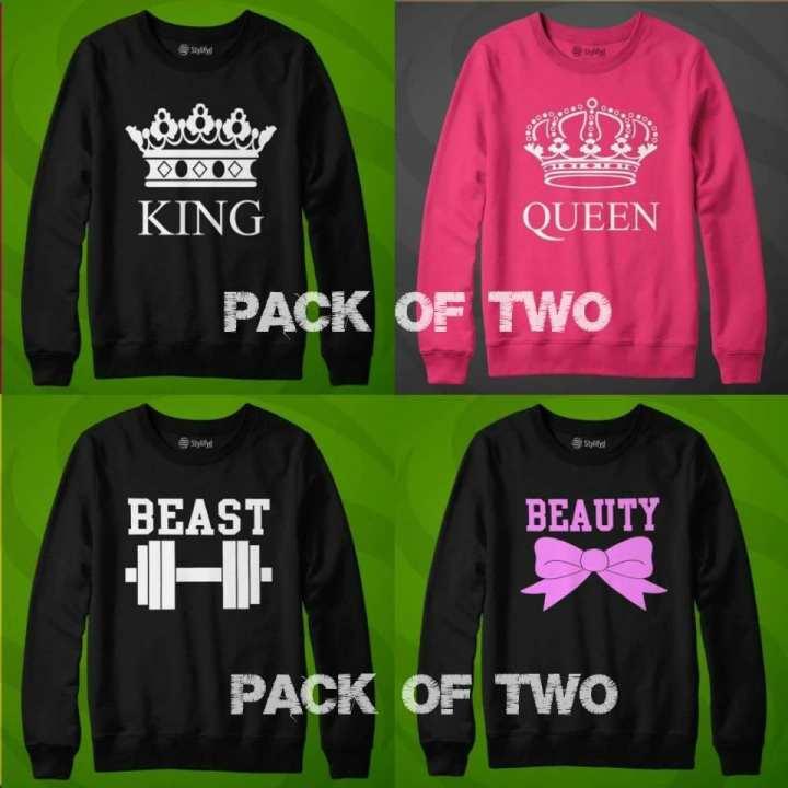 Pack OF 2 Sweat Shirts Design 15