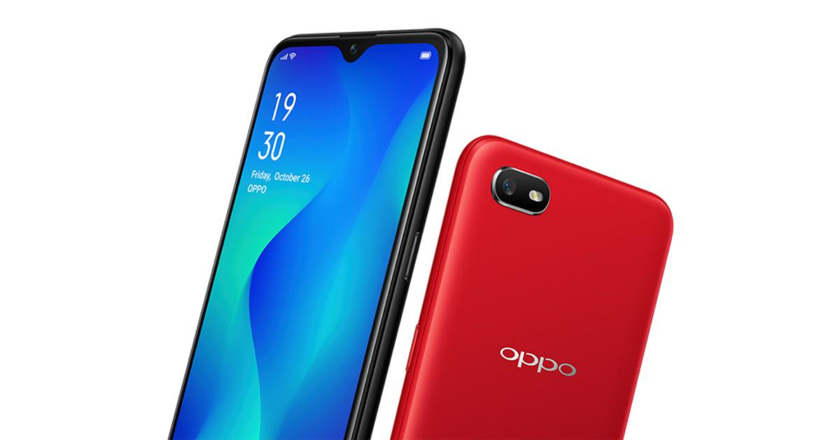 Oppo A1K 6 Inch Display 2 GB RAM 32 GB ROM 8MP CAMERA 4000 Mah Battery Red