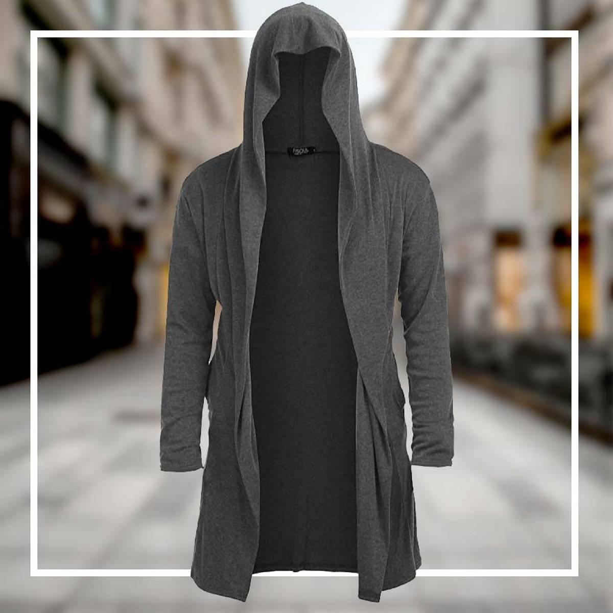 Prenda Hooded Cardigan For Men