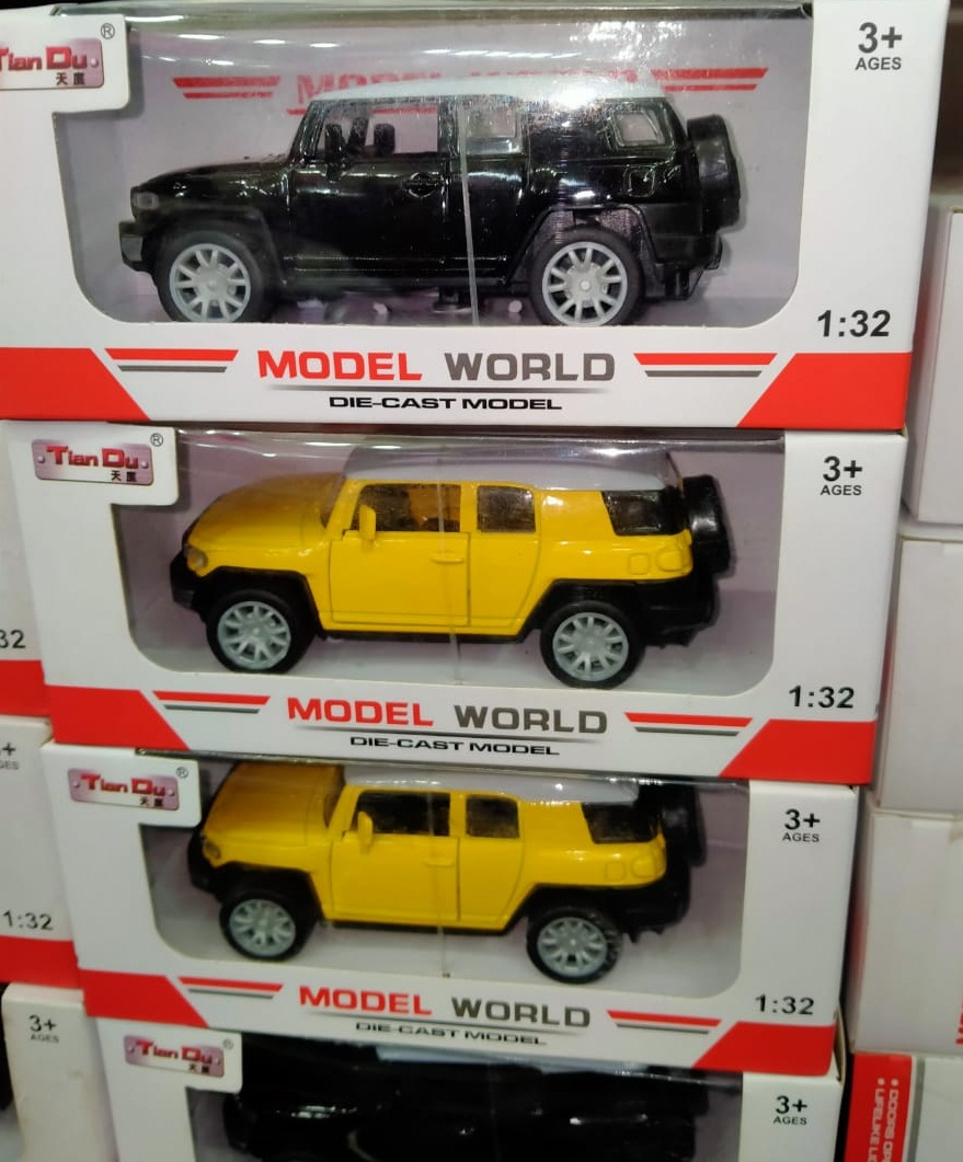 pack of 1 - Sports Diecast Metal Model Car Toy with Music for Kids - Multicolour
