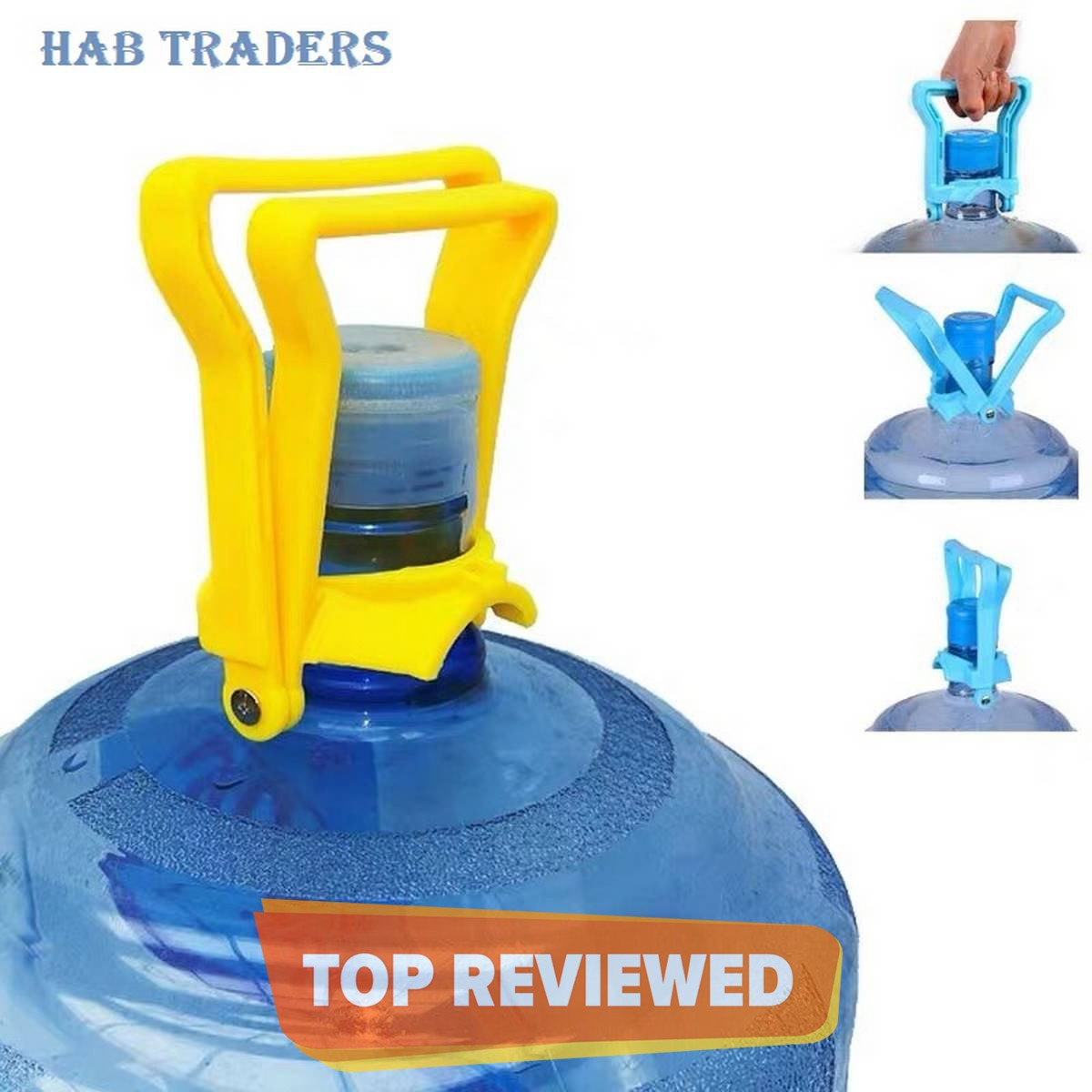 19 ltrs Water Bottle Handle Lifter - Easy Lifting Water Bottle Carrier - Water Bottle handle