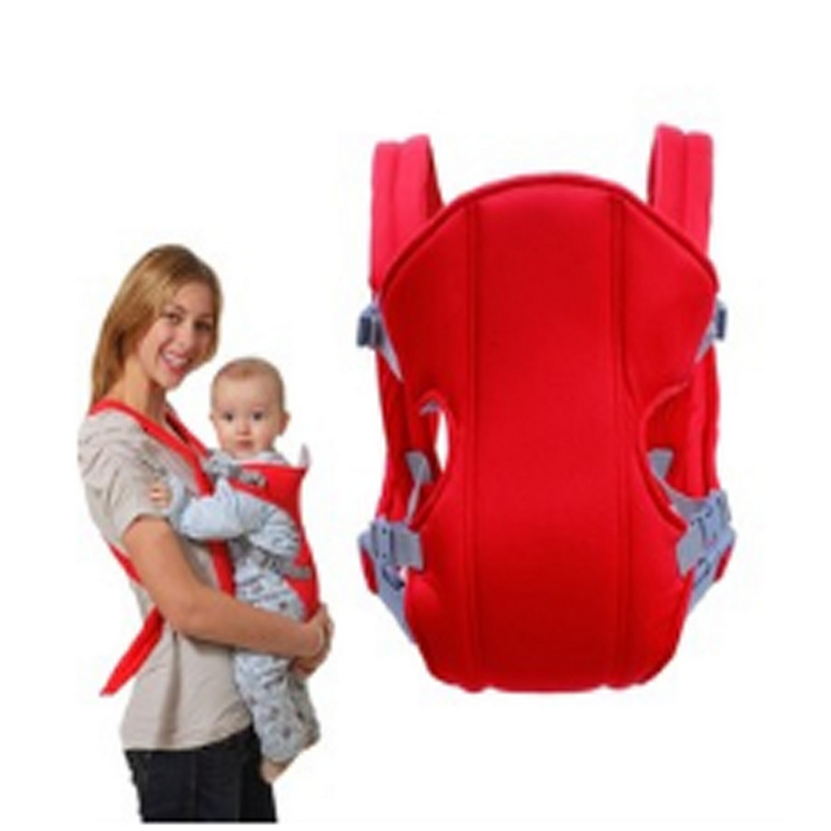 Baby Carrier Backpacks 0-24 Months Portable Baby Cotton Newborn Baby Carrying Belt for Mom Dad